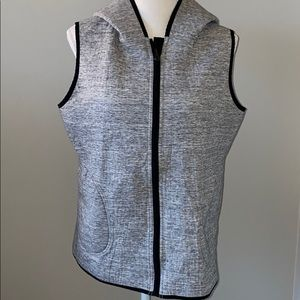 lululemon athletica Tops - Lululemon Sleeveless Sweatshirt 12 Women's Grey